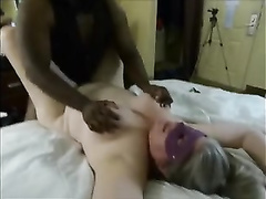 BBW bitch gets ir hard pounding in front of hubby