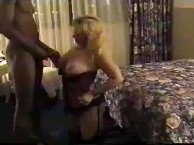 Blonde corset mature wife 12 bbc's gangbang