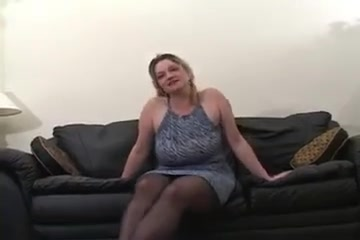 Mature white wife's first bbc cuckold DP fuck
