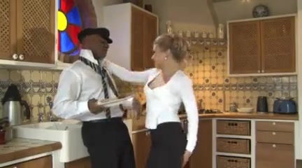 Beautiful german wife gets shared by hubby