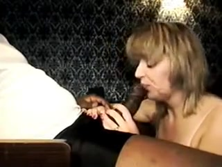 Slutty white wife gets fucked by bbc thug